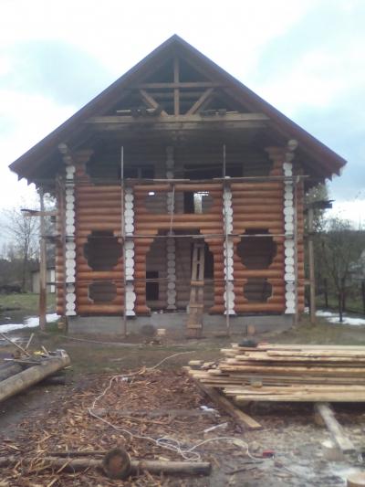 Бревенчатое домостроение