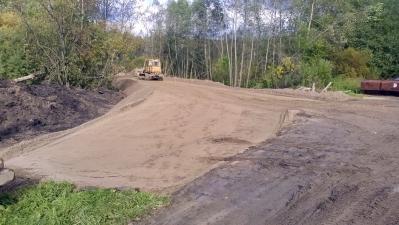 Строительство дороги д. Нурма