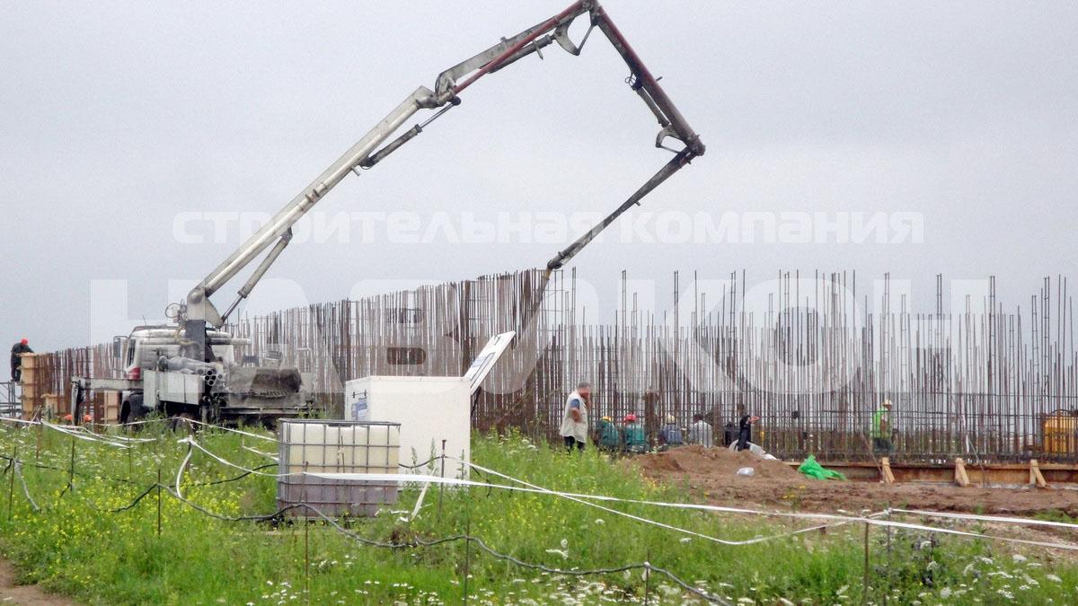 Свиноводческий комплекс ИДАВАНГ д. Малая Губа