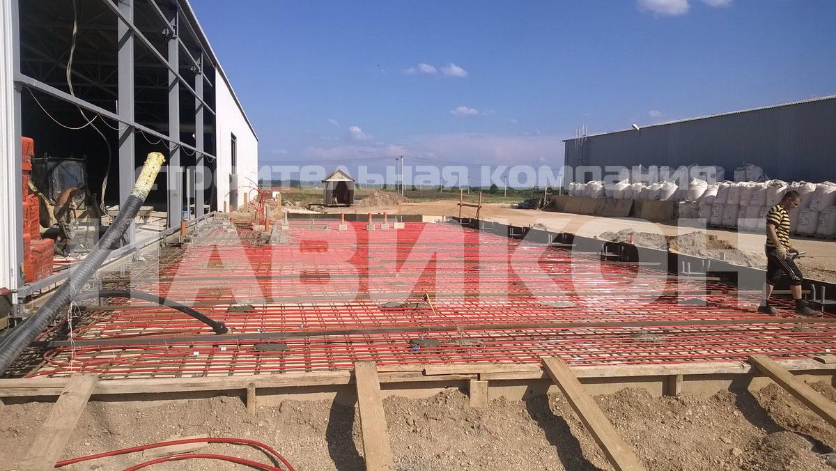Строительство офиса 10х24м